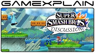 Super Smash Bros: Mushroom Kingdom U Stage Discussion