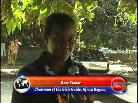 The Gambia Girl Guides Association 2014 Tour Part 5