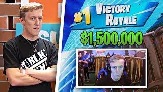 Tfue CLUTCHES $1,500,000 Fortnite Tournament! Tfue vs Chap vs NICKMERCS (Full Match Highlights)