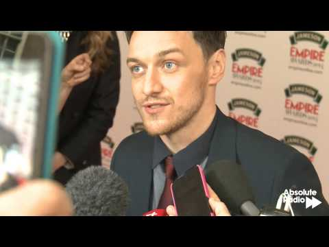 James McAvoy Interview at the Empire Awards 2014