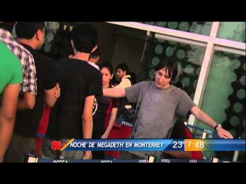 Las Noticias - Megadeth en Monterrey