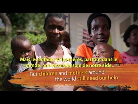 Le temps d'Éliminer le SIDA pédiatrique est maintenant