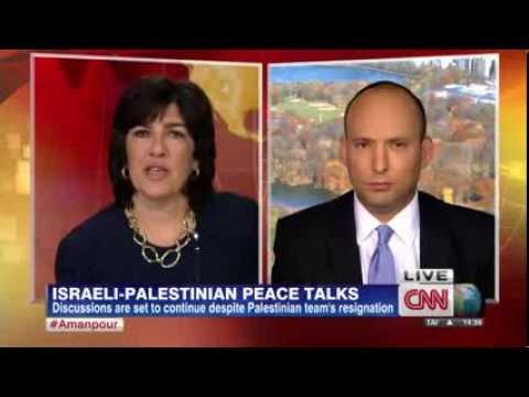 רגע טלוויזיוני נדיר (ללא תרגום) - בנט ב-CNN: