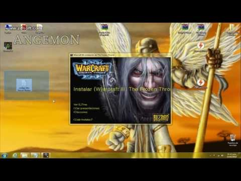 Descargar e Instalar Warcraft III Reign of Chaos + Expansion TFT + Parche 1.26a (full)