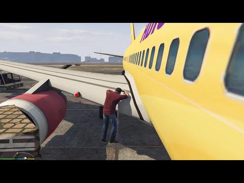 GTA 5 tập 12 - Những siêu máy bay khổng lồ trong GTA 5