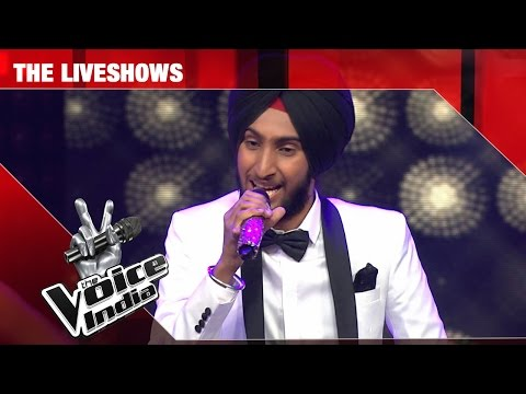 Parakhjeet Singh - Performance - The Liveshows Episode 25 - March 04, 2017 - The Voice India Season2