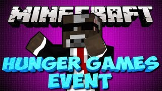 Minecraft YOUTUBER HUNGER GAMES EVENT!