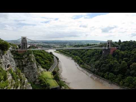 Clifton suspension bridge Bristol Bristol