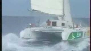 Catamaran Samsara Sailing Very Fast
