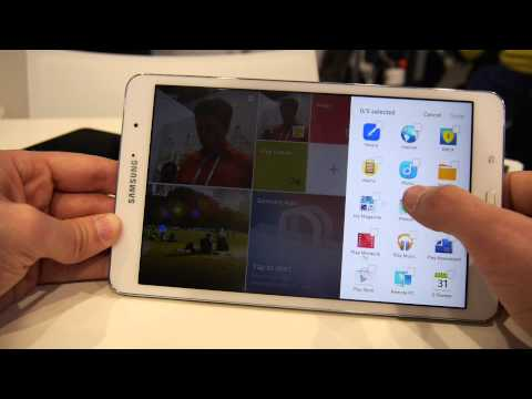 Samsung Galaxy Pro Tablet 8.4 Zoll hands on