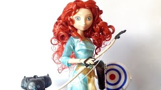 Disney Store: Brave Deluxe Talking Merida Doll Review