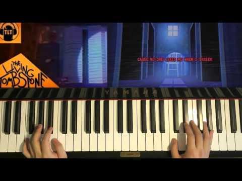 no more fnaf piano five nights at freddys song no more