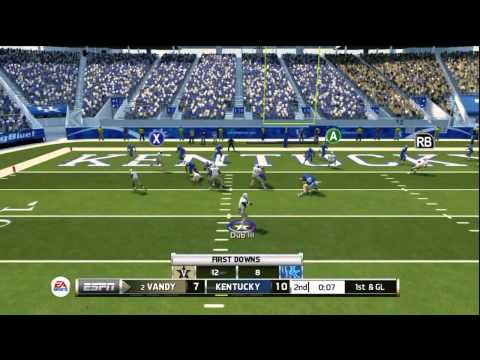 NCAA Football 2014: Happy Thanksgiving! - Vanderbilt vs Kentucky