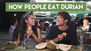 How People Eat Durian