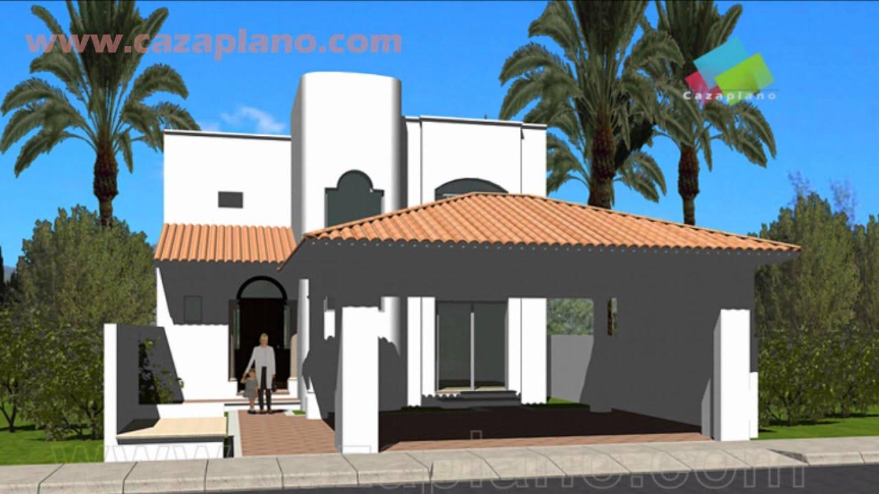 Planos de Casas Mexicanas | Fachadas - YouTube