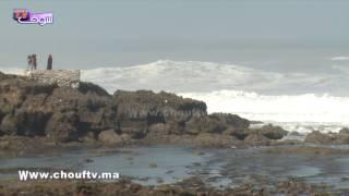 شوفو أمواج كازا تزامنا مع الميني التسونامي فسلا و الشمال |