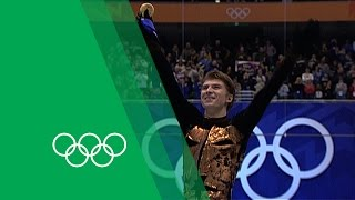 Alexei Yagudin on his Figure Skating Gold at Salt Lake City | Olympic Rewind