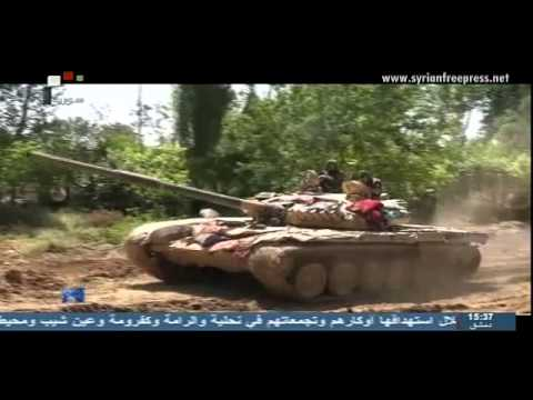 Syria News 25/6/2014, Untrue reports about shelling by Syrian air forces inside Iraqi territories