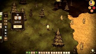 Don't Starve, what is it? Survival tips, first night.