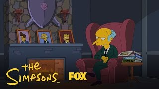 Simpsons: Mr Burns Endorses Romney
