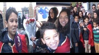 فيديو حصــري..شوفو أول هدية وصلات للطفل حمزة الأبيض لمنزل بعد وصوله للمغرب+كواليس خاصة |