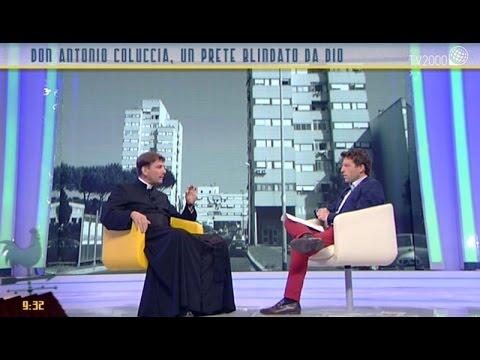 Don Antonio Coluccia, prete ex operaio sotto minaccia