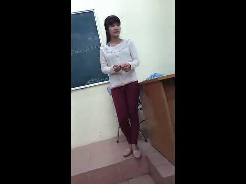 Nếu là anh. Sinh viên HAUI hát tặng cô giáo tre cực xinh