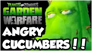 Plants vs. Zombies Garden Warfare - VERY ANGRY CUCUMBERS!! Gameplay Walkthrough (1080p HD)