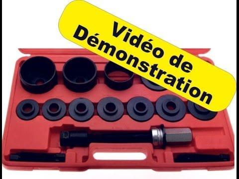 kit arrache extracteur de roulements de roue sans presse