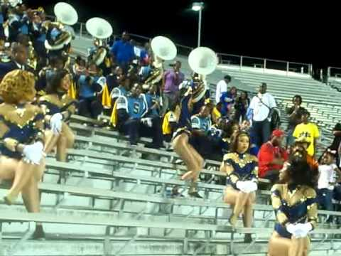 Southern University Dancing Dolls 2010 playing Power at PVU game