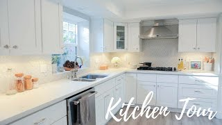 Dulce Candy's Kitchen REVEAL! + Organizing Tips