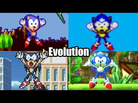 EVOLUTION OF SONIC THE HEDGEHOG DEATHS & GAME OVER SCREENS (1991-2016) Genesis, Sega CD, Wii & More!