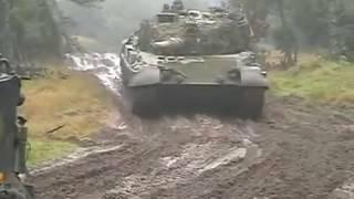 Leopard1 og M113 øvelse 2002 i Oksbøl
