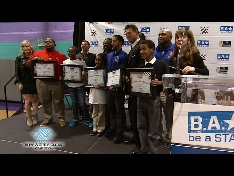 WWE hosts a Be a STAR rally with the Boys & Girls Clubs of America