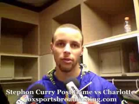 Stephen Curry Post Game vs Charlotte After Scoring Season High 43 Points