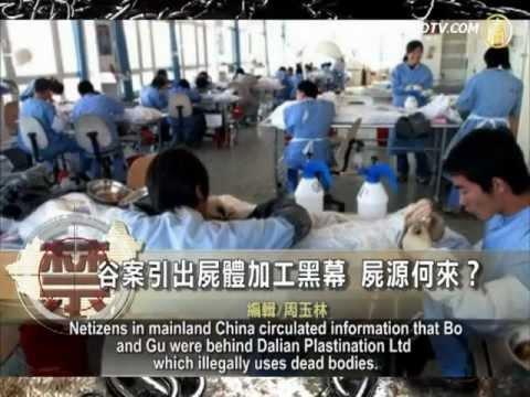 Chuyện Mờ Ám Ở Nhà Máy Thi Thể Người ở Trung Quốc