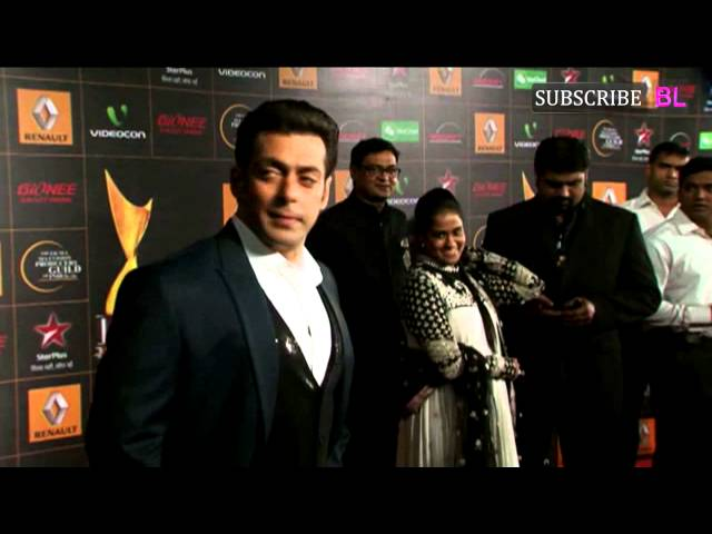 Video | Salman Khan | Star Guild Awards Red Carpet 2013