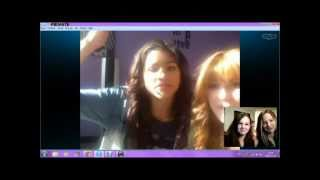 My Skype Session With Bella Thorne And Zendaya!
