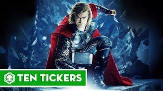 Top 10 sức mạnh của Thor có thể bạn chưa biết | Ten Tickers