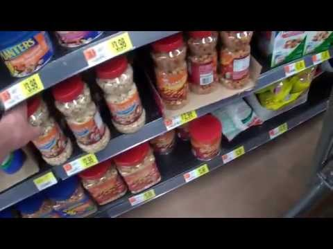 Shopping Inside Walmart in Fort Myers, Florida