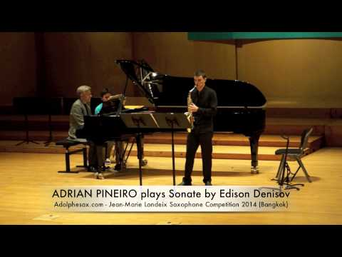 ADRIAN PINEIRO plays Sonate by Edison Denisov