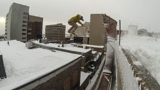 Urban Snowboarding Is Great For People Who Hate Nature