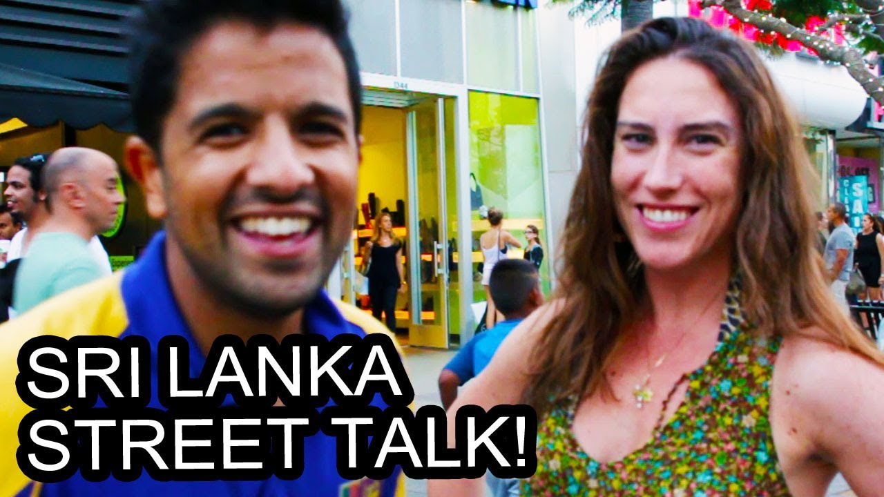 asking strangers about sri lanka youtube. Black Bedroom Furniture Sets. Home Design Ideas