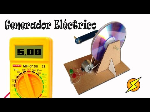 Como Hacer un Generador Eléctrico Casero (Energía gratis)
