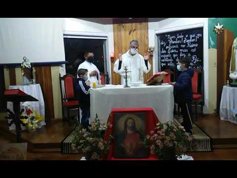 Santa Missa | 08.06.2021 | Terça-feira | Padre Robson Antônio | ANSPAZ