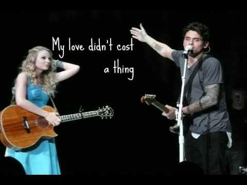 PAPER DOLL - John Mayer (Lyric Video) - YouTube
