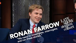 Ronan Farrow Faced Intimidation While Exposing Harvey Weinstein