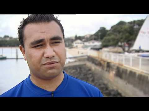 Cook Islands Laser sailors aiming for the olympics