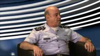 O Chefe de Operações Conjuntas no Ministério da Defesa, Tenente-Brigadeiro do Ar Ricardo Machado Vieira, fala sobre a integração das Forças Armadas nas ações em todo território nacional e nas Missões de Paz.