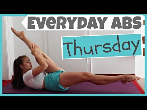 Everyday Abs Series - Thursday [3.5 Minute Workout]